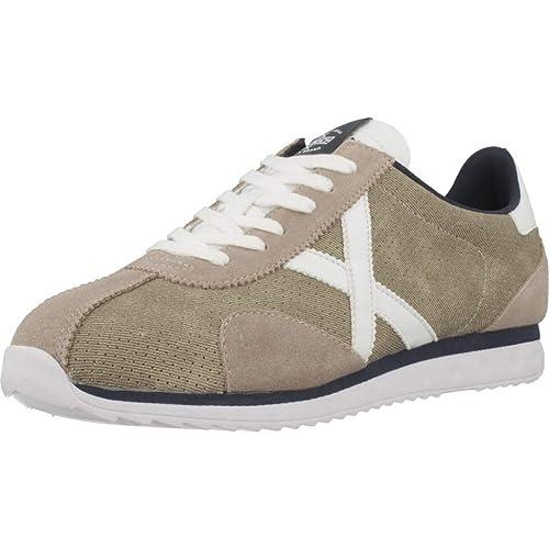 cdf61006d56 Calzado Deportivo para Hombre, Color Hueso, Marca MUNICH, Modelo Calzado  Deportivo para Hombre MUNICH Sapporo Hueso: Amazon.es: Zapatos y  complementos