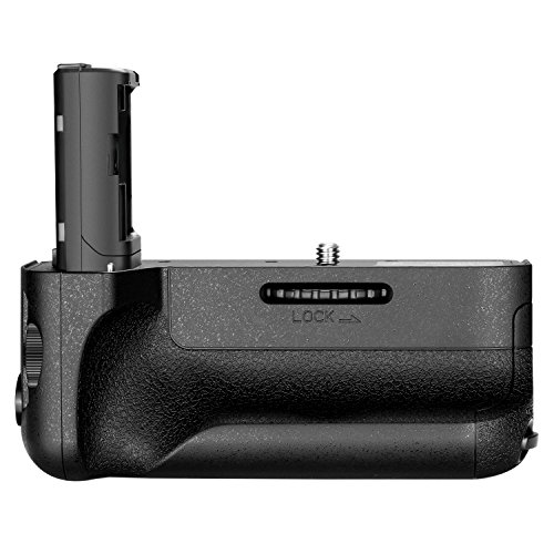 (Neewer Vertical Battery Grip Replacement, Compatible with Sony VG-C2EM Works with NP-FW50 Battery for Sony A7 II A7S II and A7R II Cameras (Battery NOT Included))