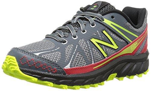 888546333864 - New Balance KJ610 Youth Lace Up Trail Running Shoe (Little Kid/Big Kid), Grey/Red, 2.5 M US Little Kid carousel main 0
