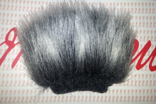 Mic-Muff Fitted Fur Windscreen for Alesis Pro-Track Sony PCM-D1, D-50 Tascam DR-100, DR-2D, GT-R1 Zoom H2, Zoom H2N, Zoom H4, Zoom H4N