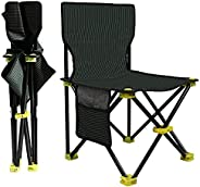 Camping Folding Chair - Outdoor Mini Portable Folding Stool,Outdoor Folding Chair for Camping,Fishing,Travel,H