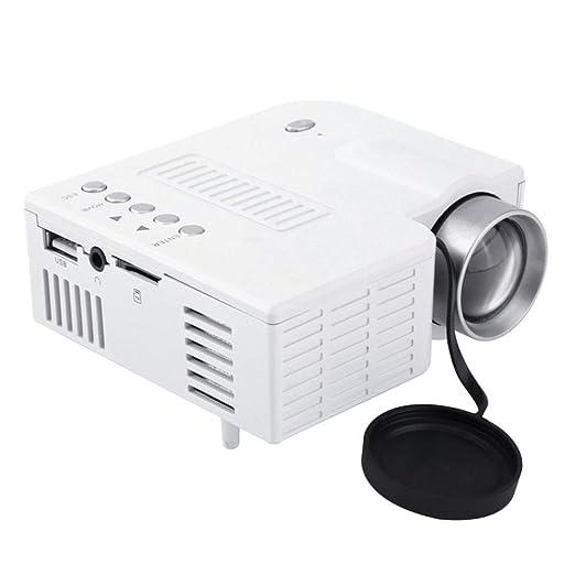 WZHESS Proyector LED portátil Multimedia, refrigeración eficiente ...