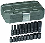 Best Cooper Tools Supply Drive Socket Sets - GearWrench 84900 1/4-Inch Drive Impact Socket Set SAE Review