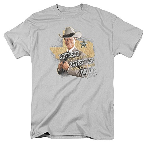Dallas Soap Opera Drama TV Series CBS J.R. Ewing Revenge Adult T-Shirt (Lg Opera Tv)