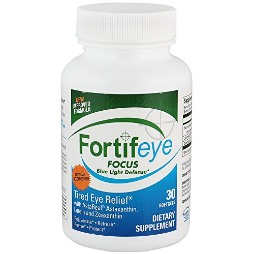 Fortifeye focus eye care supplement complex mix of for Fish oil with astaxanthin