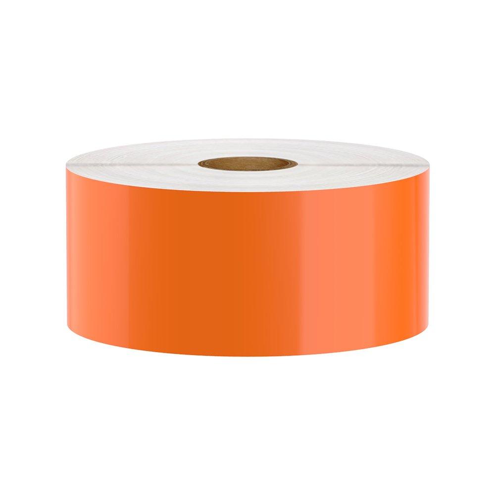 LabelMaker Premium Vinyl Tape for LabelTac, Orange, 2'' x 150'