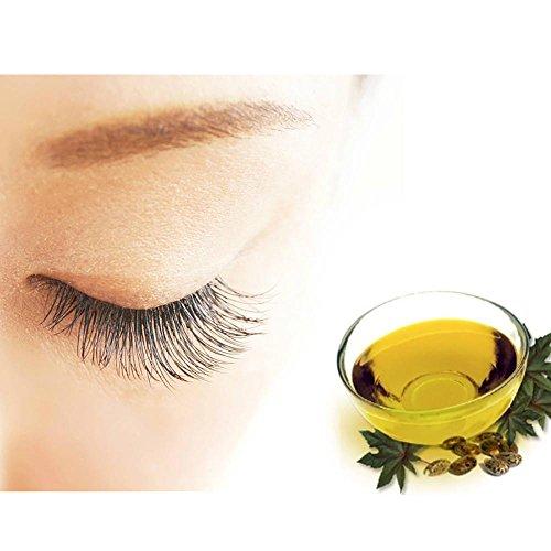 Orgánica Aceite de ricino,,, prensado en frío 100% puro, hexane-free aceite de ricino Hidratante y curación, para el crecimiento del cabello, cuidado de la ...