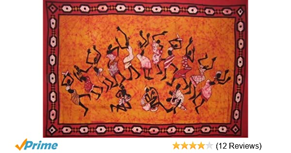 Amazon Com Tribal Dance Tapestry Unique Home Decor Wall Hanging