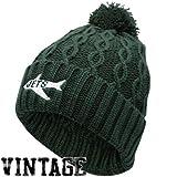 New York Jets Women's Knit Hat: Retro Pom Cuffed Knit Hat