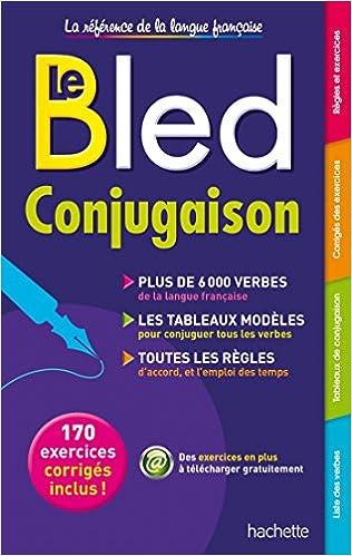 Bled Conjugaison Amazon Fr Berlion Daniel Livres
