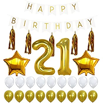 21st birthday decorations package 21 balloon for 21st birthday decoration packages