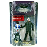 : Gotham City Thug (Happy Mask, Brown Hair) with Crime Scene Evidence Movie Masters Action Figure