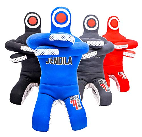 Grappling Dummy MMA Jiu Jitsu - Grappling Wrestling Dummy - Made from Durable Canvas Fabrics - MMA Dummy for Multiple Drills UNFILLED