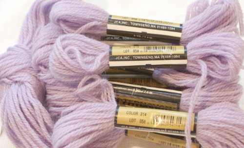 Paternayan Needlepoint 3 Ply Wool Yarn Color 314 Grape