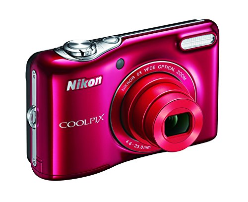 Nikon COOLPIX L32 Digital Camera with 5x Wide-Angle NIKKOR Zoom Lens