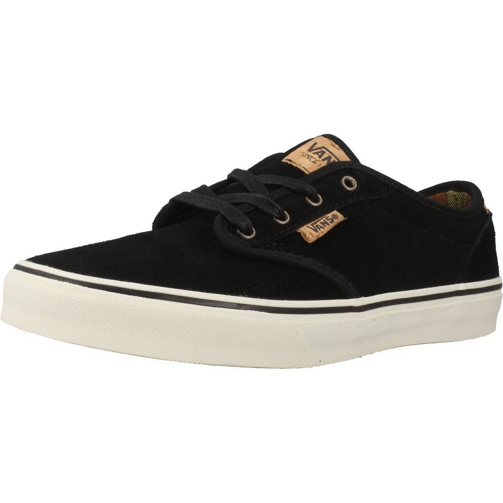 Details about Vans Kids Atwood Deluxe (Suede) Black Marshmallow d3322806e2