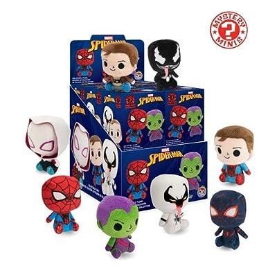 Funko Blind Box Spiderman-One Mini Mystery Plush Collectible: Funko Plush Keychain:: Toys & Games