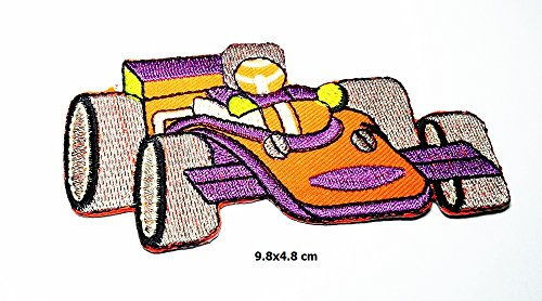 Sports Car Racing Race Exotic Formula One 1 Retro Patch Logo Vest Jacket Hat Hoodie Backpack Patch Iron On