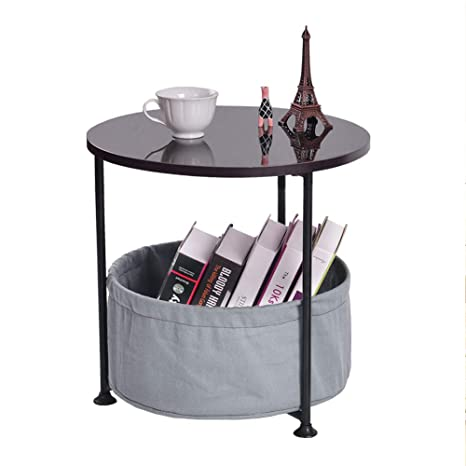 Small Round End Table 7