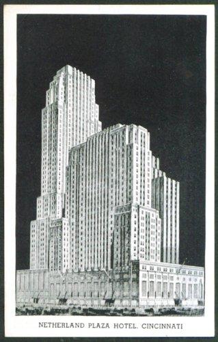 Netherland Plaza Hotel Cincinnati OH postcard 1940s