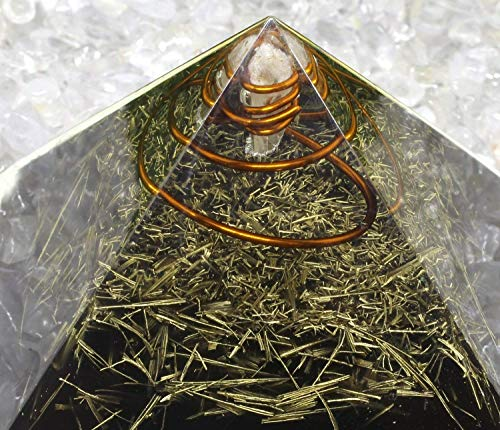 Orgone Pyramid crystal for Energy generator & Emf protection