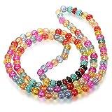 Thunaraz Buddhist Mala Prayer Beads 108 Meditation Healing Multilayer Bracelet Necklace for Women Color