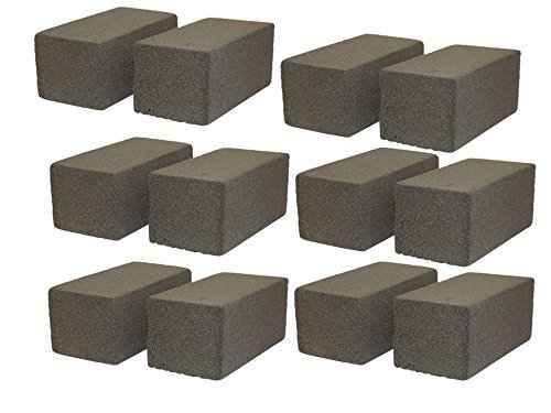 JA Kitchens Case of 12 Grill/Griddle Cleaning Bricks