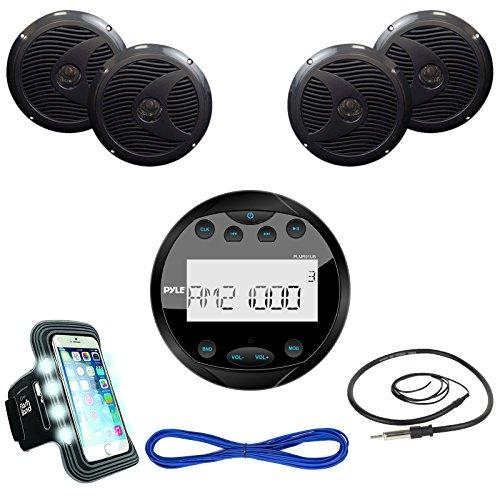 Pyle PLMR91UB Bluetooth Receiver Speaker