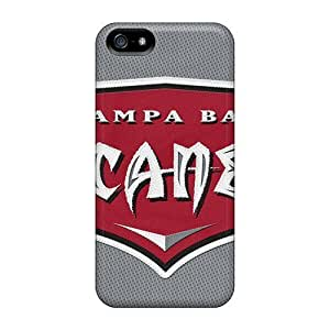 USMONON Phone cases Fashion Protective Tampa Bay Buccaneers Case Cover For Iphone Iphone 5 5s