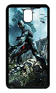 Note 3 Case, Galaxy Note 3 Case, [Perfect Fit] Soft TPU Crystal Clear [Scratch Resistant] Crysis 3 Cute Back Case Cover for Samsung Galaxy Note 3 N9000 Cases