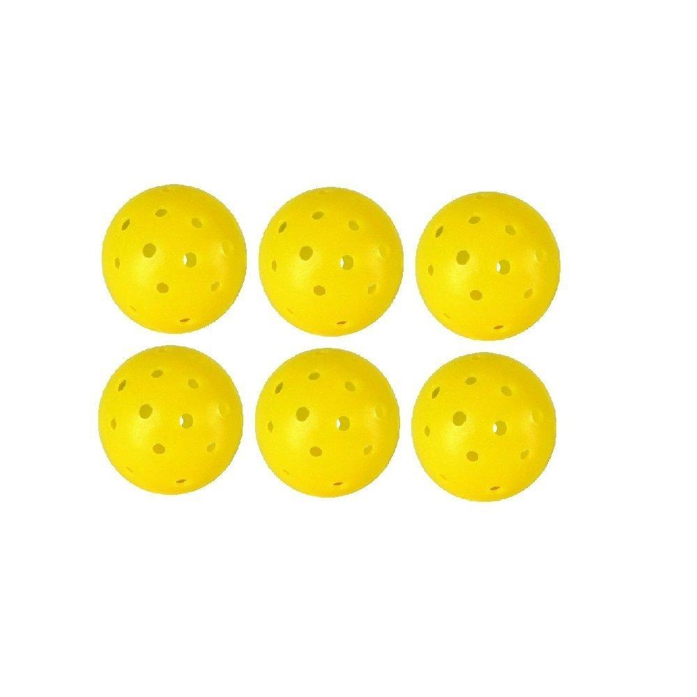 Wolfe approvato 40 hole giallo Outdoor Pickleballs, N9000 Iii