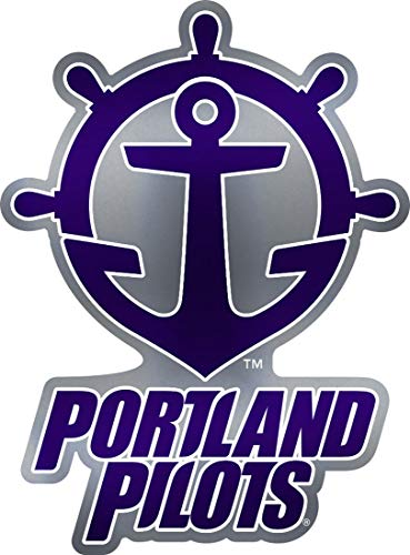 WinCraft NCAA Portland Pilots Premium Auto Emblem Decal, Hard Acrylic ()