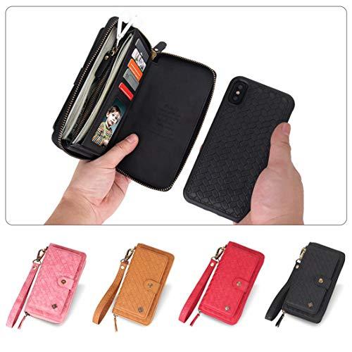 463752e39d アイホンXR ケース 手帳型 織りパターン クラッチバッグ 【Boomshine】iphone XR ケース iphoneXR