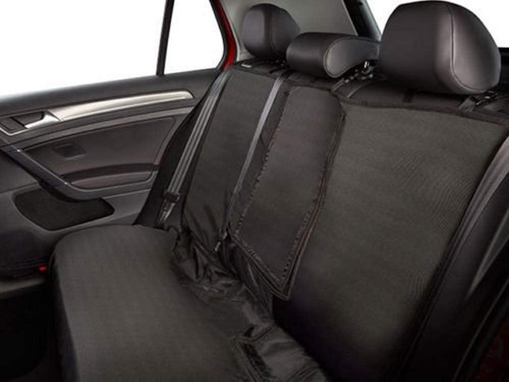 2 BLACK FRONT VEST CAR SEAT COVERS PROTECTORS FOR VOLKSWAGEN TIGUAN