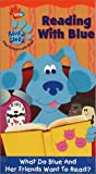 Blues Clues - Reading with Blue [VHS]