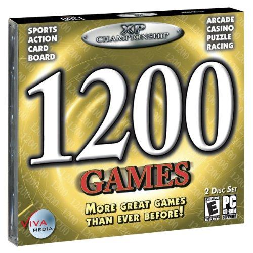 1200 Games (Jewel Case)