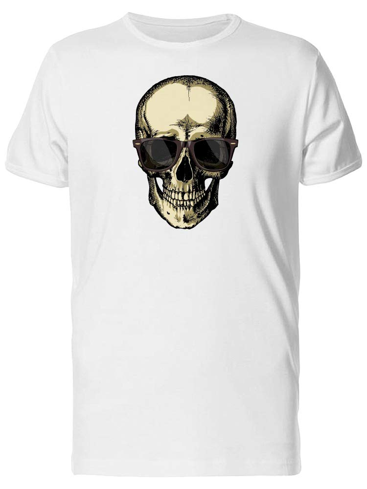 Vintage Skull With Sunglasses Tee Men's -Image by Shutterstock