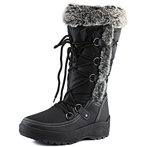 Amazon.com | Women&39s DailyShoes Woman&39s Knee High Up Warm Fur