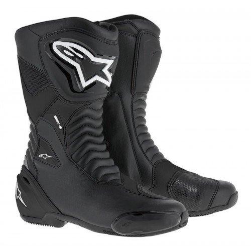[해외] alpinestars(알파인 스타의) 오토바이 부츠 블랙/블랙 (EUR 41/26.0cm) SMX-S부츠 1691470241
