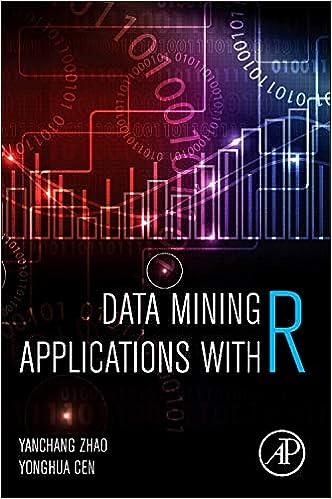 Data Mining Applications with R: Amazon co uk: Yanchang Zhao