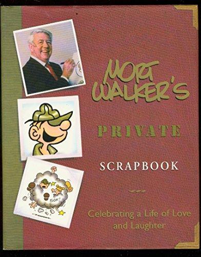 MORT WALKER'S PRIVATE SCRAPBOOK HARDCOVER-BEETLE BAILEY NM