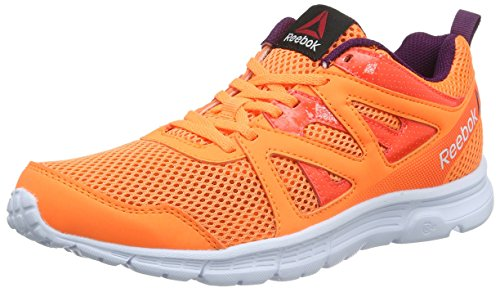 Reebok Damen Run Supreme 2.0 Laufschuhe, Orange (Elect Peach/Atom Red/Celest Orchd/Wht), 39 EU