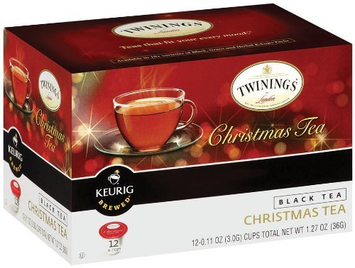 Twinings of London K-Cup Portion Pack for Keurig K-Cup Brewers Christmas Tea, 72 Count (Pack of 6) by Twinings