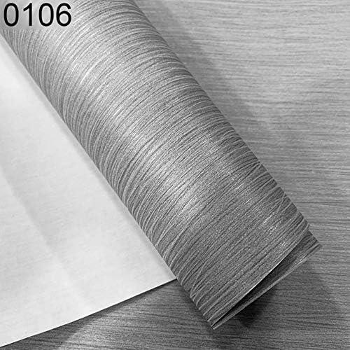 ZYZRYP 壁3 Dベッドルームリビングルームのソファテレビの背景ピンクベージュストライプウォールペーパーロールスロイスのためのシンプルなラグジュアリーモダン・ストライプの壁紙 (色 : 0106)