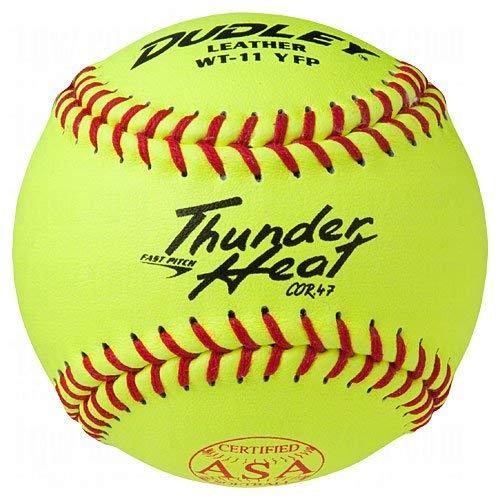 """Dudley ASA Thunder Heat Fastpitch Softball 11"""" 12 Ball Pack"""