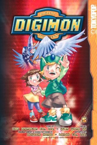 Digimon, Vol. 5 (Manga Digimon)