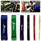 Cheap Kbands Training Ballistic Bands – Strength – Assisted Pull Ups – Power Squats – Cross Training Resistance Bands -Official (6 Pcs – Standard, One Bag)