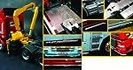 Truck Accessories Set II w/Pivoting Lifting Crane 1/24 Italeri by Italeri