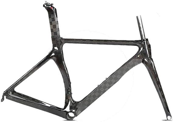 MAIKONG Cuadro de Bicicleta de Carretera de Fibra de Carbono 18K ...
