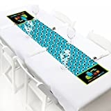 Big Dot of Happiness Monster Bash - Petite Little Monster Birthday Party or Baby Shower Paper Table Runner - 12'' x 60''